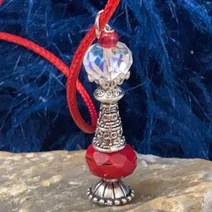Love Magic  ❤️ potion vial bottle necklace